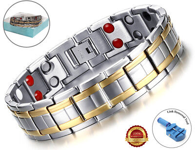 Health Magnetic Bracelet Carpal Tunnel Relief Arthritis Bio Therapy Chronic Pain • 12.59£
