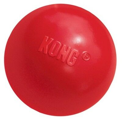 KONG Classic Red Bouncy Ball Strong Rubber Dog Toy Tough Durable Toys Or Treats • 10.09£