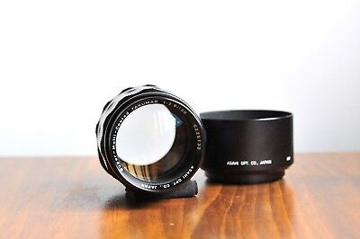 AU289.95 • Buy PENTAX Asahi SMC Takumar 120mm F/2.8  M42 Screw Mount Lens  W/ Hood & Pentax UV