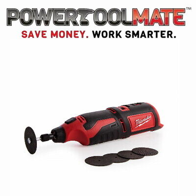 £77.99 • Buy Milwaukee C12RT-0 M12 Compact Rotary Tool (Naked - No Batteries Or Charger)