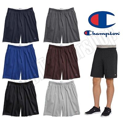 $14.95 • Buy NEW Authentic Champion Men's Cotton Shorts With Pockets/ 9 Inches Inseam