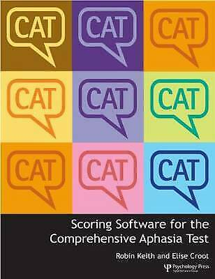 Scoring Software For The Comprehensive Aphasia Test - 9781848720640 • 137.57£