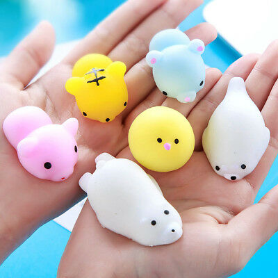 AU1.27 • Buy 3D Cute Mochi Squishy Squeeze Healing Fun Kids Kawaii Toy Stress Reliever Decor