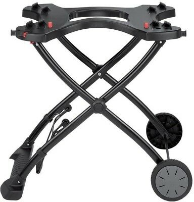 $ CDN136.32 • Buy Weber Gas Grill Rolling Cart Stand Portable Rolling Wheels Q 1000/2000 Camping