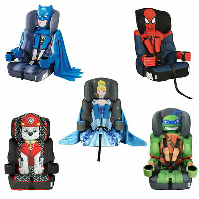 £99.99 • Buy Kids Embrace Group 1 2 3 High Back Child Themed Car Booster Seats 9-36kgs