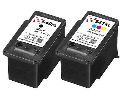 Remanufactured Canon PG-540XL CL-541XL Ink Cartridges - For Canon Pixma TS5151 • 30.95£