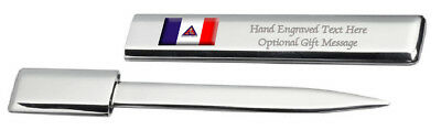 Timoteo City Minas Gerais State Flag Post Mail Letter Opener Engraved • 29.99£