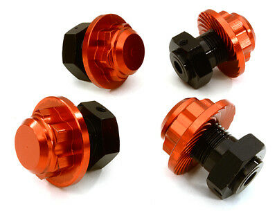 £25.43 • Buy INTEGY RC Car C26812RED Alloy 17mm Hex Wheel Hub(4)for HPI Savage XS Flux