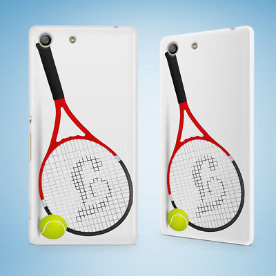 AU9.95 • Buy Sports Tennis Racquet And Ball Hard Case Sony Xperia C3 C4 E4 M2 M4 Sp T2 T3