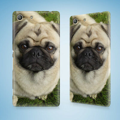 AU9.95 • Buy Cute Dog Puppy Canine Pug 13 Hard Case Sony Xperia Z Z1 Z2 Z3 Z4 Z5 Compact