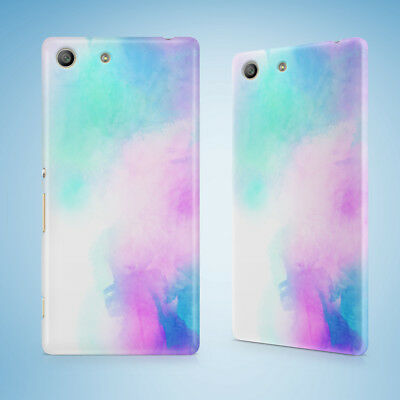 AU9.95 • Buy Blue Purple Watercolor 67 Hard Case Sony Xperia Z Z1 Z2 Z3 Z4 Z5 Compact