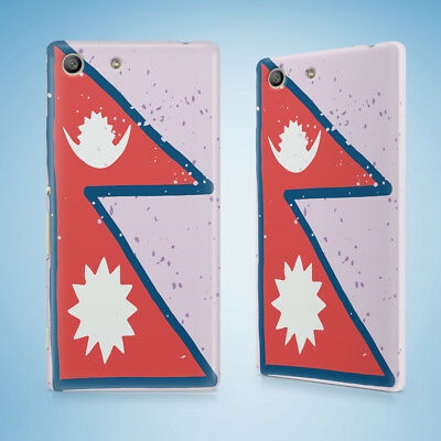 AU9.95 • Buy Nepal Country Flag Hard Case Sony Xperia C3 C4 E4 M2 M4 Sp T2 T3