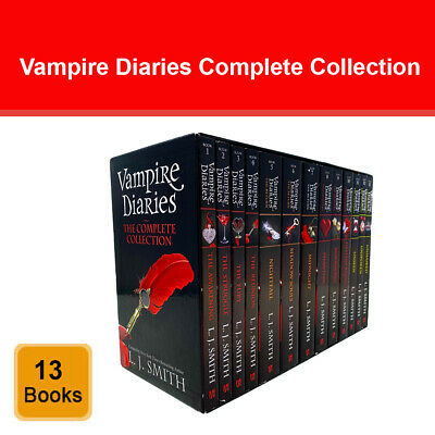 £42.78 • Buy Vampire Diaries The Complete Collection Books 1 - 13 Box Set By L. J. Smith
