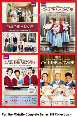 Call The Midwife Complete Series 1-8 Dvd Collection Season 1 2 3 4 5 6 7 8 Uk R2 • 94.99£