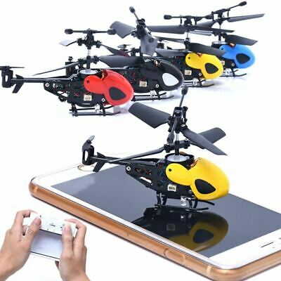RC 2CH Mini Heli-copter Radio Remote Control Aircraft  Micro 2 Channel Gift For  • 19.77£