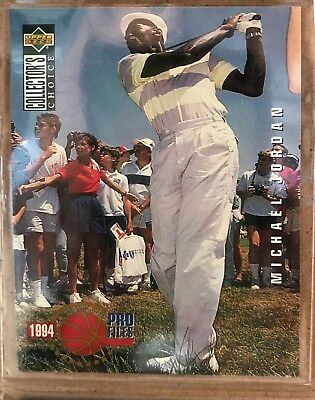 $1000 • Buy Michael Jordan  Pro Files #204 Golf Basketball Card 1994  MINT