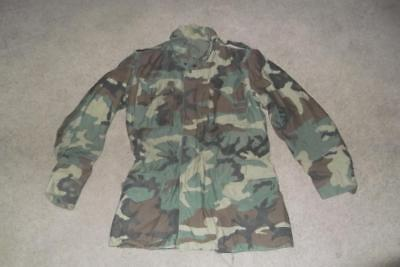 $165 • Buy Military BDU Large Long Field Jacket Camouflage US Army USAF US Navy Men #77