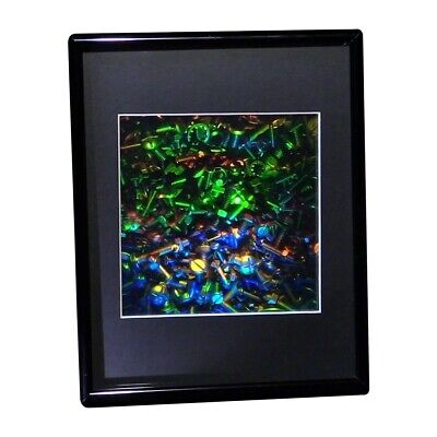 £32.41 • Buy 3D Nuts And Bolt Hologram Picture (FRAMED), Collectible EMBOSSED Type Film