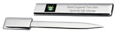 £29.99 • Buy FCA0644ENGAPS829A Shapland Family Crest Coat Of Arms Engraved Letter Opener