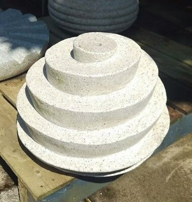 Carved Spiral Stone Water Feature Ornament • 195£