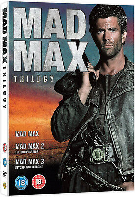 MAD MAX TRILOGY DVD BOXSET COMPLETE COLLECTION 1 2 3 Original UK Release R2 • 14.99£