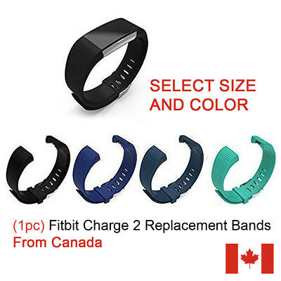 $ CDN5.99 • Buy (1pc) Silicone Bracelet Strap Replacement Band For Fitbit Charge 2