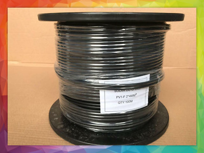 AU160 • Buy 4mm2 Twin Core DC Cable Solar PV Cable 100 Meter Roll