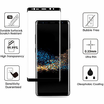 $ CDN3.27 • Buy Tempered Glass Screen Protector For Samsung Galaxy Note 8/ S9/S9 Plus/S8 Plus