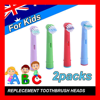 AU7.85 • Buy Children Kids Electric Toothbrush Heads Oral B Compatible Replacement Brush 8pcs