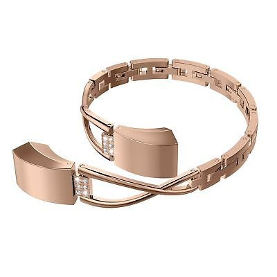 AU40.74 • Buy For Fitbit Alta / HR Bangle Band Adjustable Fashion Jewelry Metal Wristband New