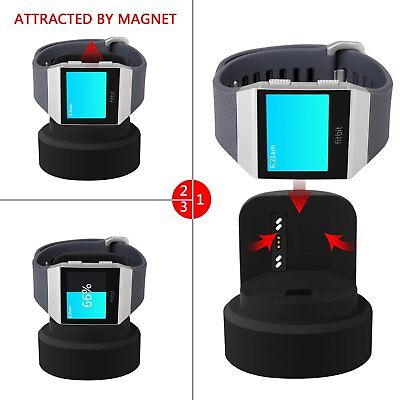 $ CDN27.02 • Buy For Fitbit Ionic Charger Stand Charging Dock Station Magnet Cable Replacement