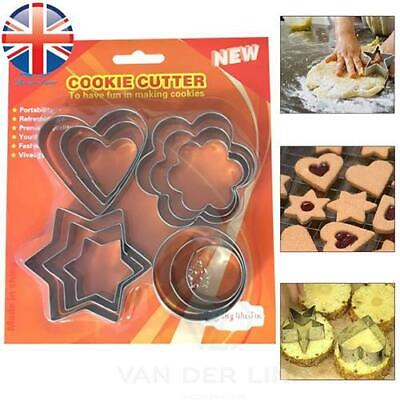 *UK Seller* Stainless Steel Shape Cookie Cake Egg Icing Mould Mold Cutter • 3.88£