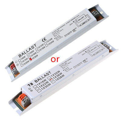 £4.53 • Buy 36W 220-240V AC Wide Voltage T8 Electronic Ballast Fluorescent Lamp Ballasts