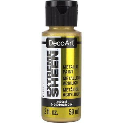DecoArt Extreme Sheen Metallic Paint 59ml 2oz • 2.99£