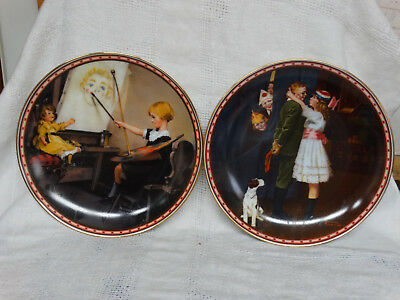 $ CDN38.86 • Buy A Mind Of Her Own Series Norman Rockwell Collector Plates Set Of 8