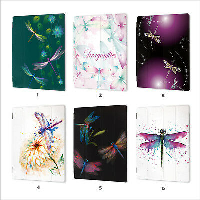 AU19.99 • Buy Dragonfly Leather Smart Case Cover IPad 2 3 4 5 6 7 Air Mini 1 Pro 9.7 10.5 028