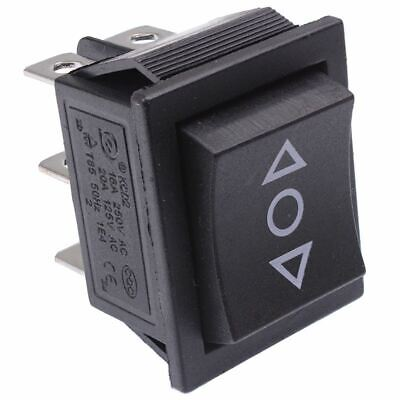 On-Off-On Rectangle Rocker Switch DPDT • 2.49£