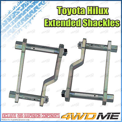 AU150 • Buy Fits Toyota Hilux N80 GUN126 REVO 4WD UTE Extended Shackles 2  Lift Kit 2015 +