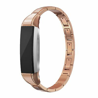 AU37.83 • Buy For Fitbit Alta HR / Alta Band Women Stainless Steel Strap Jewelry Adjustable
