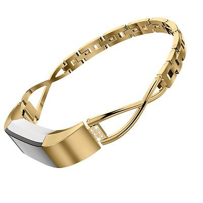 AU41.12 • Buy For Fitbit Alta / HR Bangle Band Adjustable Fashion Jewelry Strap Metal Strap