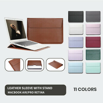 AU14.95 • Buy Wallet Sleeve Cover Case Bag With Stand For Macbook Air & Pro & Retina 13 Inch