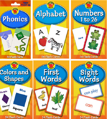 £4.97 • Buy Children's Flash Cards Kids Educational Pre School Learning Brighter Child Gift