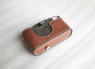 $ CDN75.46 • Buy Handmade Genuine Real Leather Half Camera Case Bag Cover For Contax T2 Camera SB