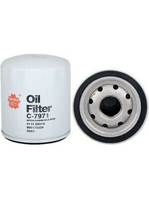 AU15.40 • Buy Sakura Spin-On Oil Filter [ref Ryco Z663] FOR FIAT FREEMONT JF_ (C-7971)