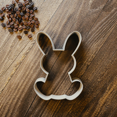 Easter Bunny Rabbit Cookie Cutter - Biscuit Cutter - Fondant Cutter - 3 Sizes • 3.99£