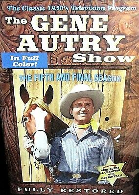 £4.10 • Buy The Gene Autry Show: The Fifth And Final Season NEW! 2 DVD 13 SHOWS, COLOR!  TV
