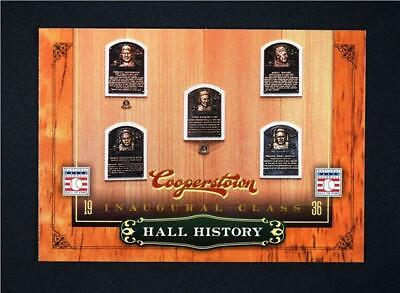 $0.99 • Buy 2012 Panini Cooperstown Hall History #1 Inaugural Class - NM-MT