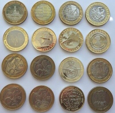 Cheapest £2 Coins Two Pound Rare Commonwealth Olympic Mary Rose King James Bible • 8.99£
