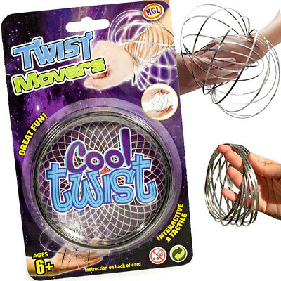 £3.95 • Buy Twist Mover Magic Flow Ring 3d Toy Kinetic Arm Slink Christmas Stocking Filler