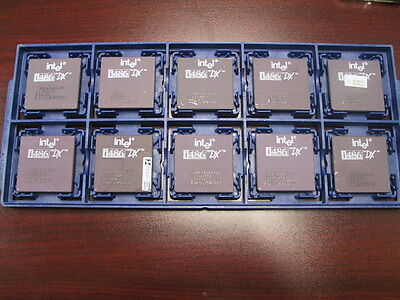 AU60.78 • Buy Intel I486 486 80486 CPU 33MHz DX A80486DX-33 SX729